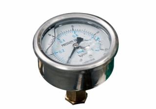 Imagem: Manómetros de pressão