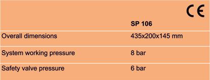 Tabela SP106 EN