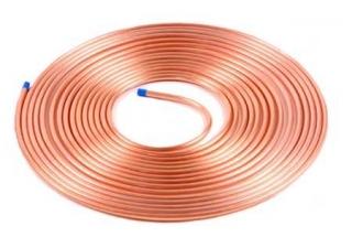 Imagem: Tubos de cobre